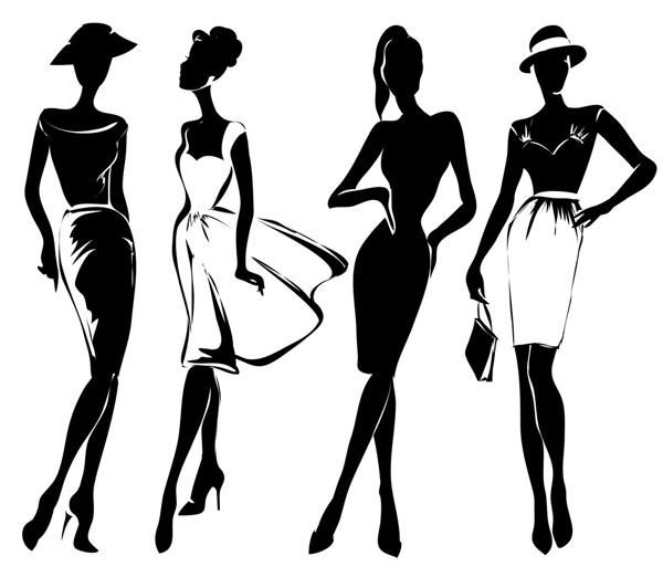 Abbigliamento Donna Illustrazione