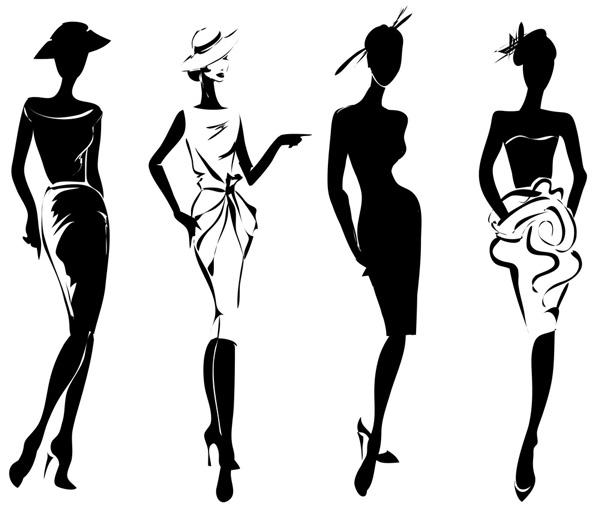 Abbigliamento Fashion Illustrazione